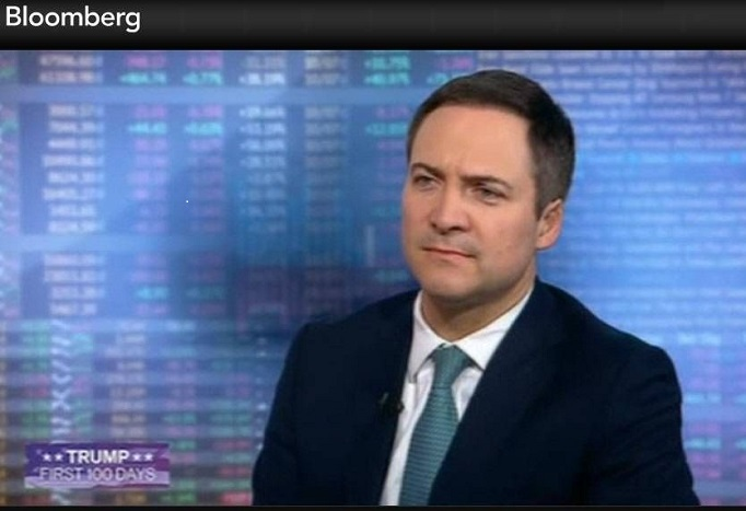 Jean Medecin on Bloomberg TV in New York City.jpg