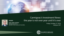 Carmignac's Investment Views: the year is not over until it's over EN