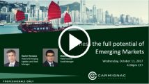 Harness the full potential of Emerging Markets